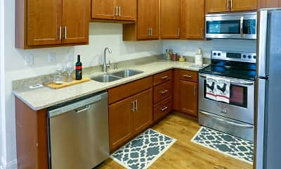 Kitchen, Terrace Park Apartments, 0