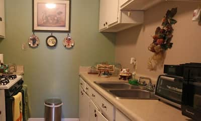 Kitchen, Audubon Village, 0