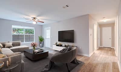 Living Room, Ashford Place, 2