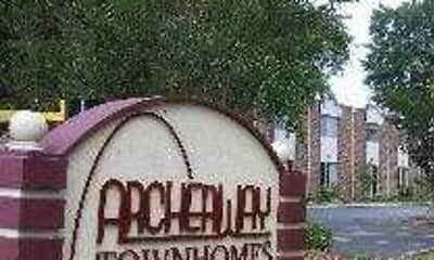 Community Signage, Archerway Apartments, 0