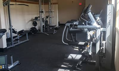 Fitness Weight Room, Boulder Ridge Apartments, 2