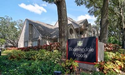 Community Signage, Bloomingdale Woods, 2