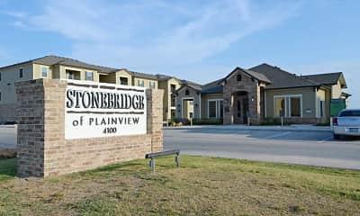 Community Signage, Stonebridge of Plainview, 2