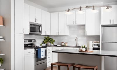 Kitchen, The Aster Conservatory Green, 0