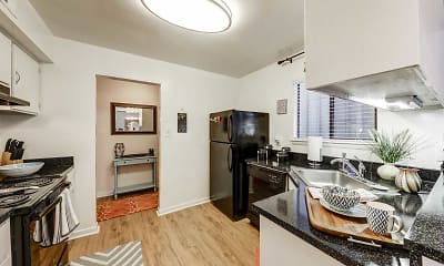 Kitchen, Landmark of Columbia Apartments, 1