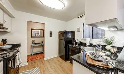 Kitchen, Landmark of Columbia Apartments, 1