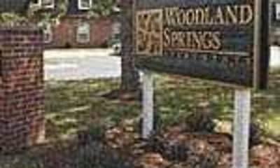 Community Signage, Woodland Springs, 1