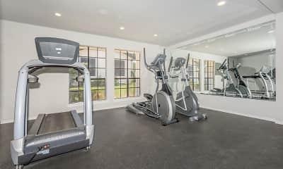 Fitness Weight Room, Tides on Randol East, 2