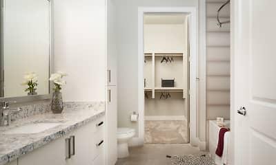 Bathroom, Broadstone Memorial Park Apartment, 2
