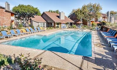 Pool, Rock Island Apartments, 0