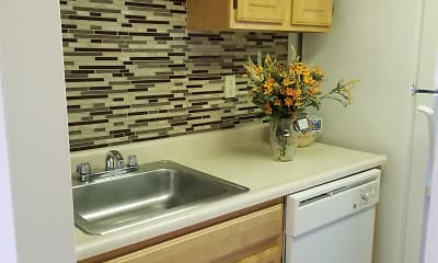 Kitchen, Riverside Gardens, 1