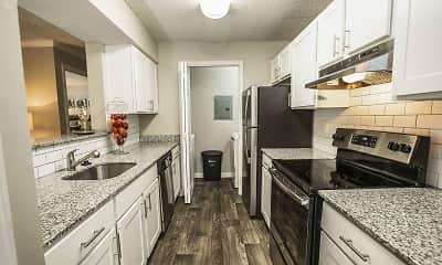 Kitchen, Retreat at Riverside, 1