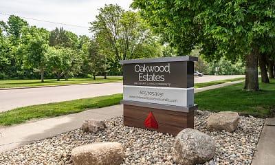 Community Signage, Oakwood Estates, 1