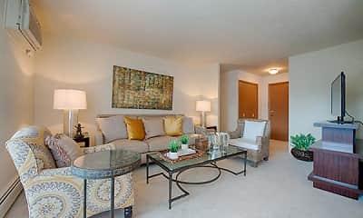 Living Room, Hamilton House, 1