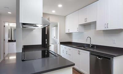 Kitchen, eaves Fremont, 1