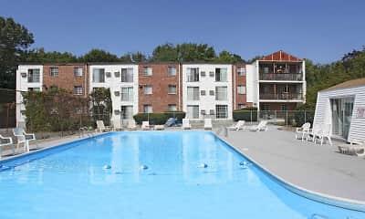 Pool, Mansion House Apartments Cranston, 1