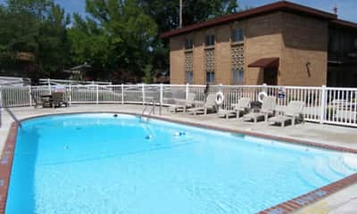 Pool, Heege Place Apartments, 1
