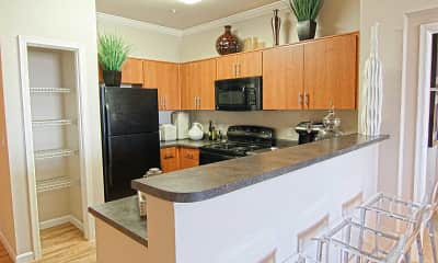 Kitchen, Cantabria Apartments, 1