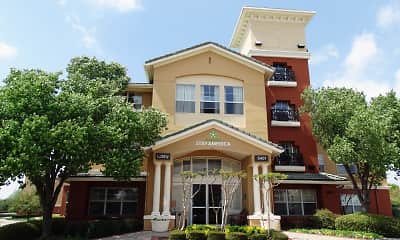 Community Signage, Furnished Studio - Dallas - Las Colinas - Green Park Dr., 0