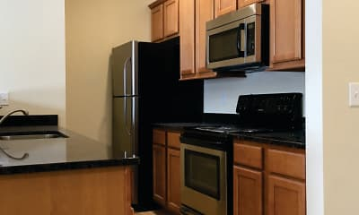 Kitchen, The Residences at Clarkson, 1