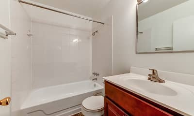 Bathroom, Morgan Manor Apartments, 2