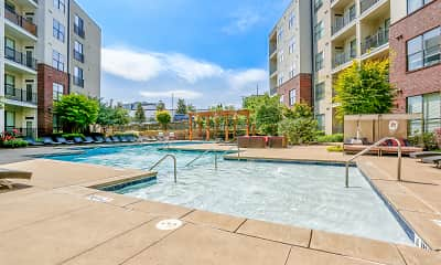Pool, Pine Street Flats, 2
