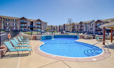 Pool, Weaver Creek Community, 0