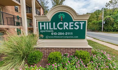 Community Signage, Hillcrest Apartments, 0