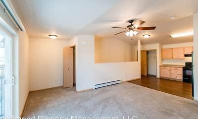 Living Room, Woodland Estates, 1