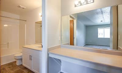 Bathroom, Park West Club, 2