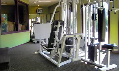 Fitness Weight Room, Inwood Village, 2