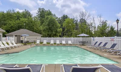 Pool, Columbia Woods Apartments, 2