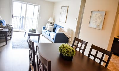 Dining Room, Residence at Capital Hills, 1