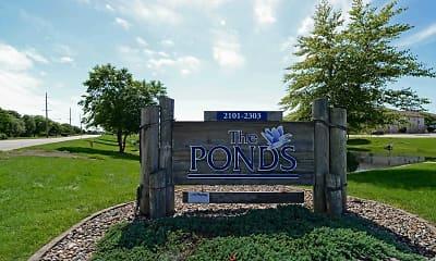 Community Signage, The Ponds, 2