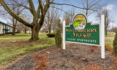 Community Signage, Winterberry Village, 1
