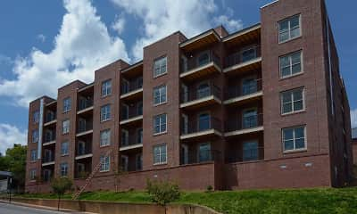 Building, Gish Flats, 1