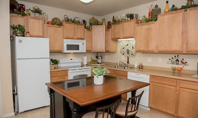 Kitchen, Crossing at Waters Edge 55+ Independent Living Community, 0