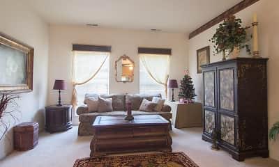 Living Room, Lake Pointe Apartment Homes, 1