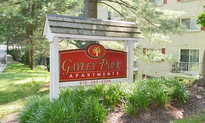 Community Signage, Gayley Park Apartments, 0