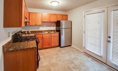 Kitchen, Carolina Pines Apartment Homes, 0