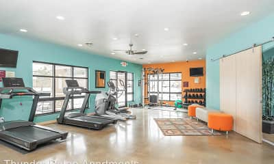 Fitness Weight Room, Thunder Ridge Apartments, 2