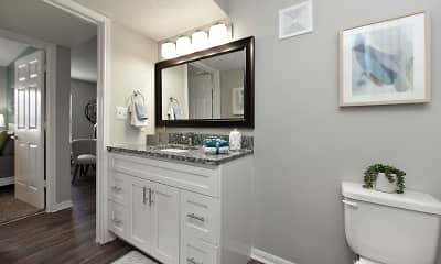 Bathroom, The Cooper Forest Acres, 1