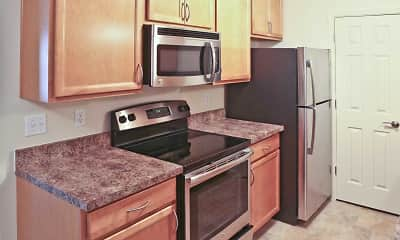 Kitchen, Markwell Village Apartments, 1