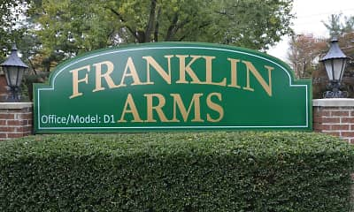Community Signage, Franklin Arms Apartments, 2