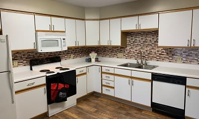 Kitchen, Deer Park Apartments, 0