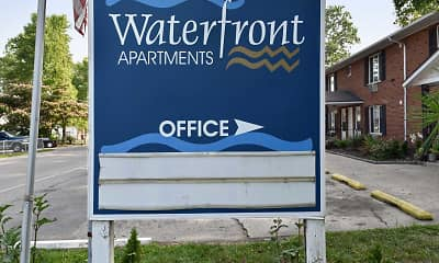 Community Signage, Waterfront Apartments, 2