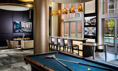 view of rec room, Radiant Fairfax Ridge Apartments, 2