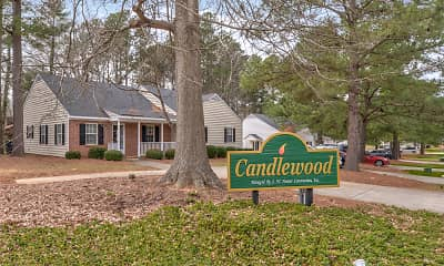 Community Signage, Candlewood Apartments, 2