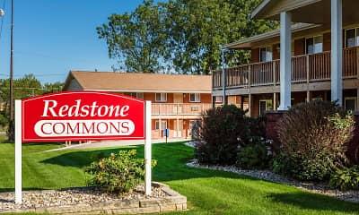Community Signage, Redstone Commons, 1