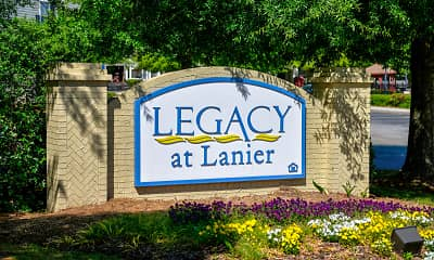 Community Signage, Legacy at Lanier, 2